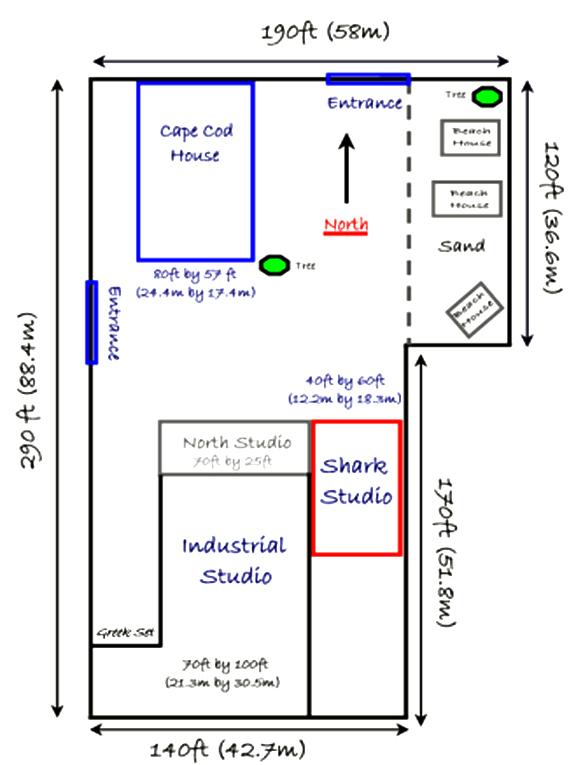 Pottery Studio Floor Plans